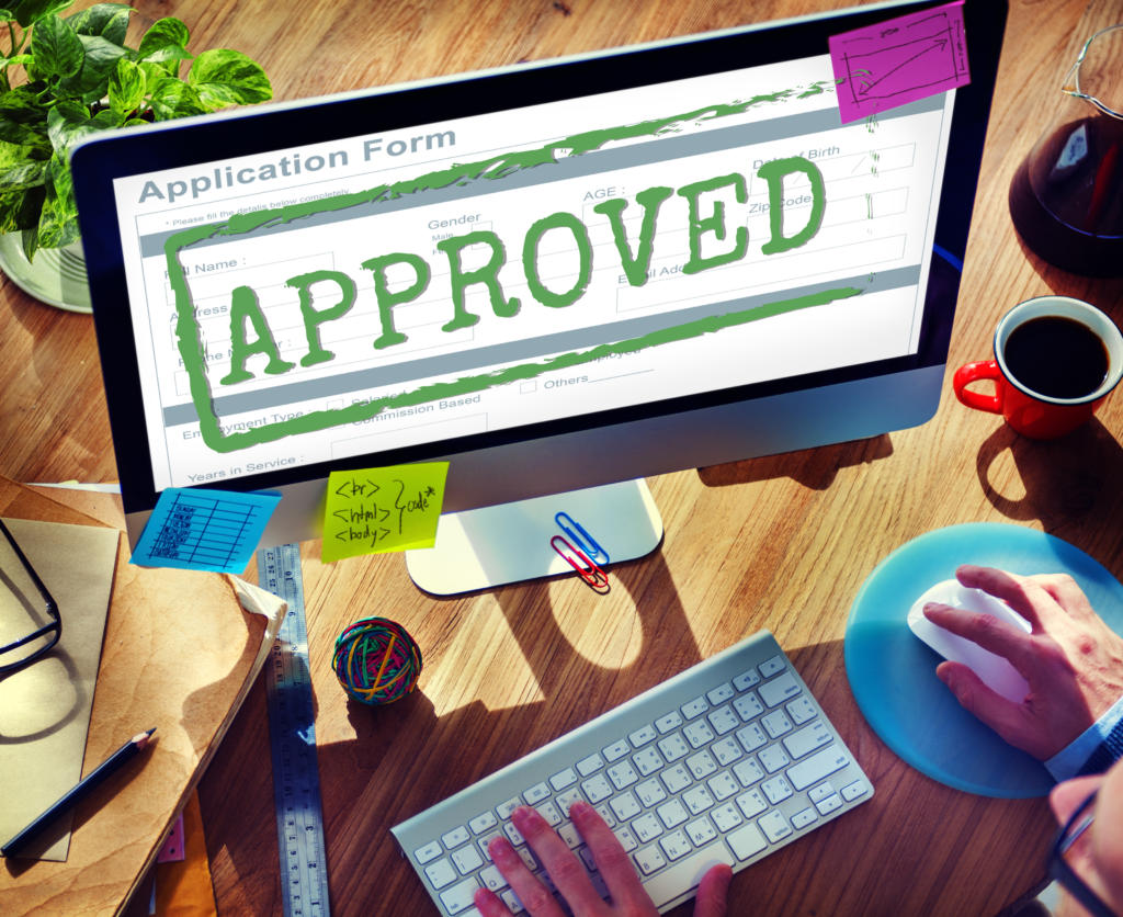 Approved Accepted Application Form